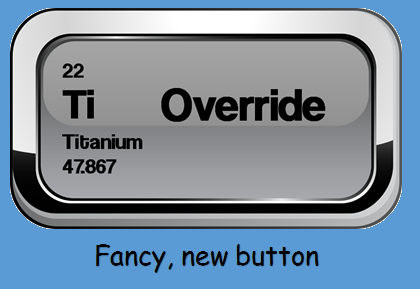 Override Button - Train Away Chronic Pain